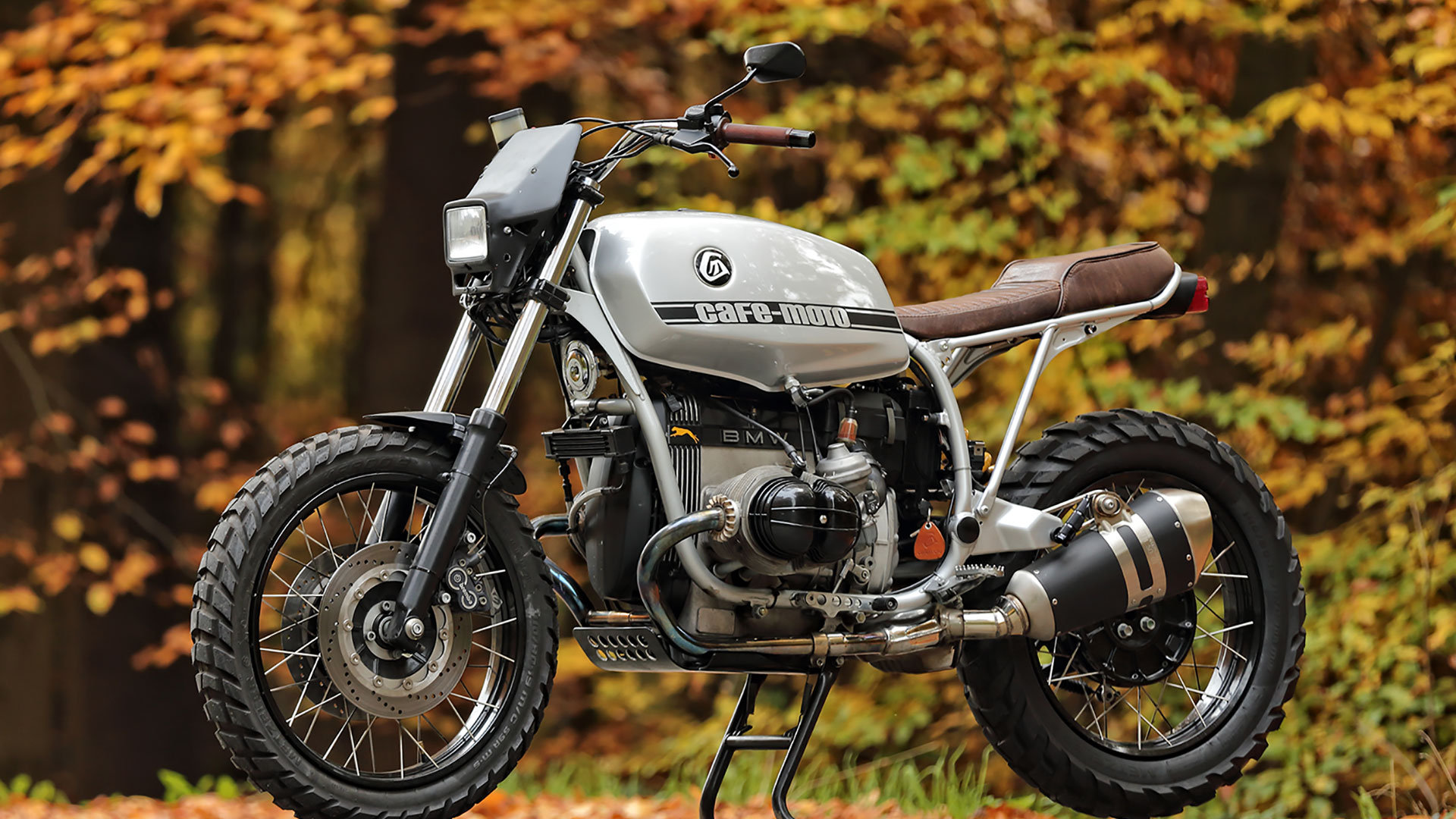 BMW R100 R Cafemoto 004 Hunter Dirttrack Scrambler Enduro Custom